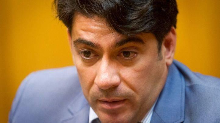 David P�rez, alcalde de Alcorc�n