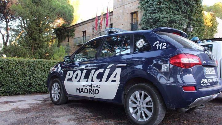 Coche de la Polic�a Municipal de Madrid.