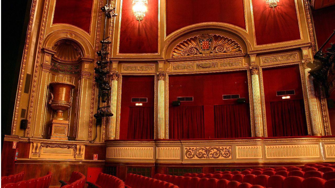 Interior teatro lope de vega madrid hogar y ideas de - Teatro coliseum madrid interior ...