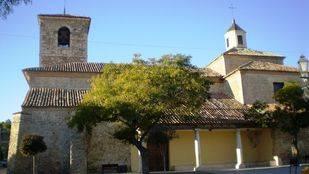 Iglesia parroquial San Andrés Apóstol, en Fuentidueña de Tajo.