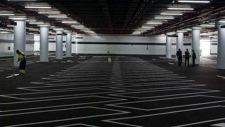 Parking de Nuevos Ministerios (archivo)