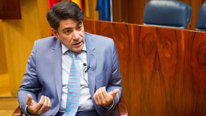 David Pérez, alcalde de Alcorcón y diputado del grupo parlamentario popular (PP) en la Asamblea de Madrid. (Archivo)