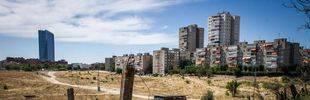 Visita a los terrenos donde se pretende implantar el nuevo desarrollo del norte de Madrid.