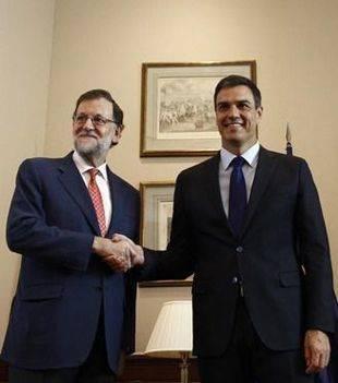 Rajoy avisa de que el 'no' del PSOE lleva a nuevas elecciones