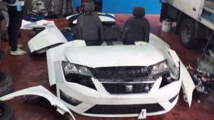 Detenida una banda que 'legalizaba' coches robados con bastidores de coches desguazados