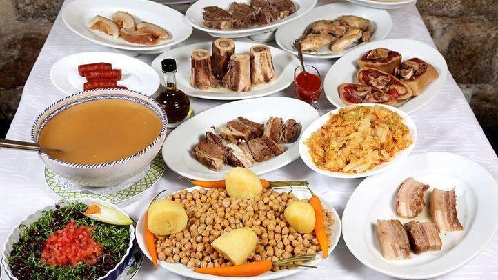 El cocido madrileño, candidato a las '7 Maravillas Gastronómicas España 2016'