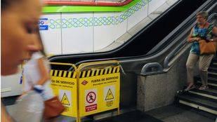La Comunidad mejorará 298 escaleras mecánicas del Metro