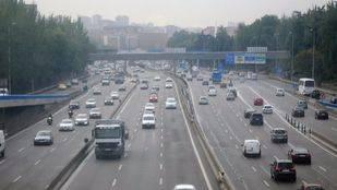 A partir de este miércoles habrá cortes de tráfico en la M-30 por obras de mejora