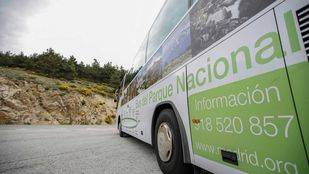 La Comunidad elimina el bus turístico de la Sierra de Guadarrama