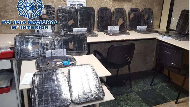 Desarticulada una organización que introducía cocaína a través del aeropuerto Adolfo Suárez