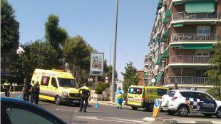 Un motorista en estado muy grave tras colisionar con un coche en Torrejón de Ardoz