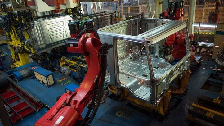 Planta industrial de construcción de camiones (archivo)