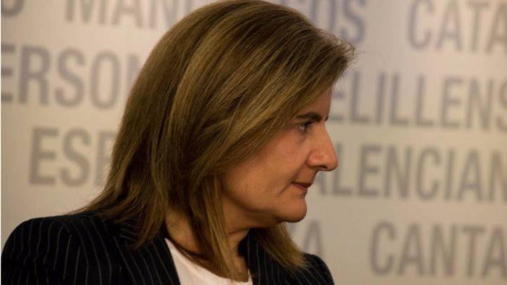 Fatima Bañez en el Comite Ejecutivo Nacional del PP.