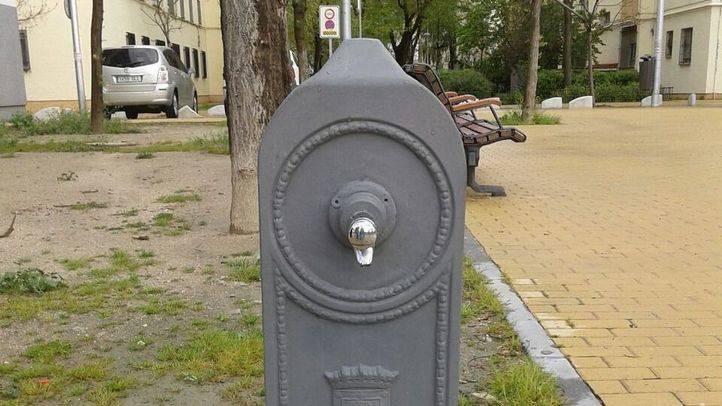 Fuente reparada en Ciudad de los Ángeles