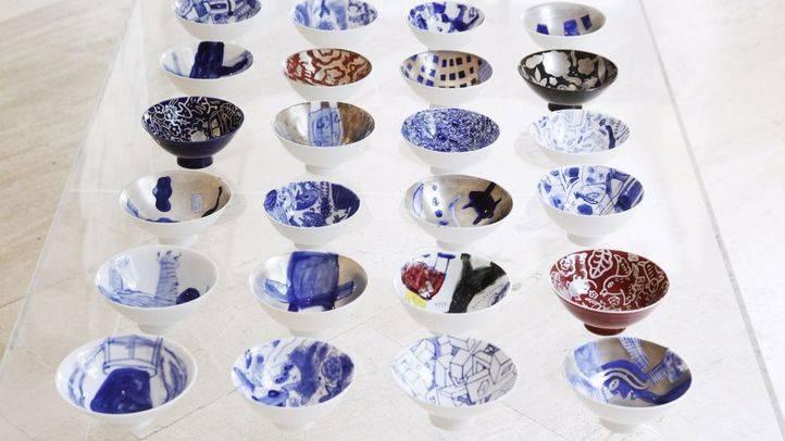El Centro Cultural Coreano acoge 'Tierra, fuego y naturaleza' una exposición de porcelana inspirada en la naturaleza