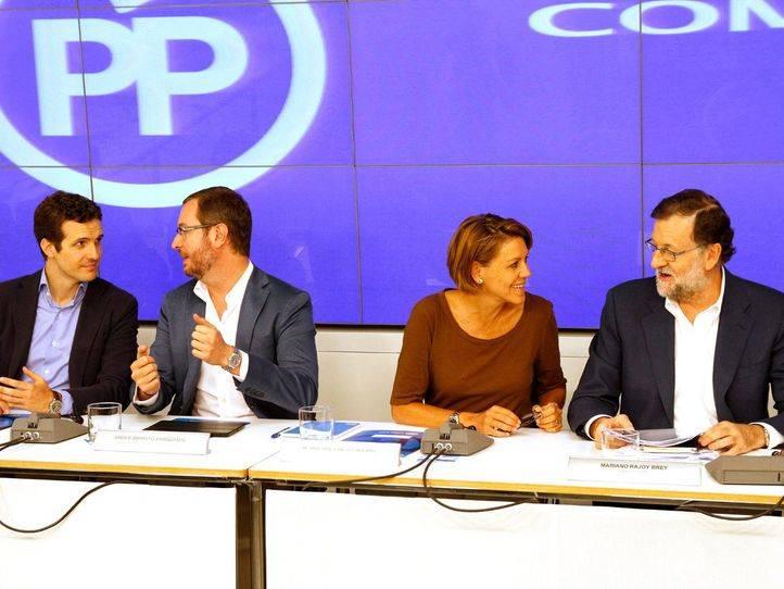 Rajoy recibe autorización del PP para negociar con Ciudadanos