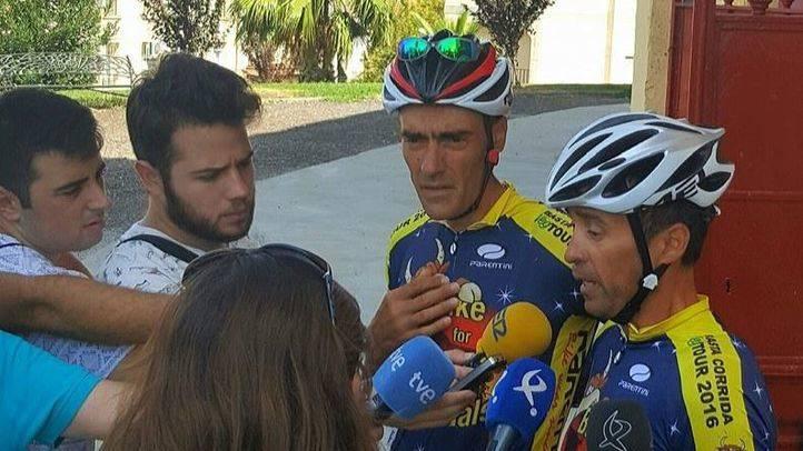 Dos ciclistas finalizan en Madrid una ruta de 2.800 kilómetros en defensa del veganismo