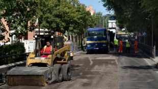 Comienzan las obras de reparación de la M-118 a su paso por Daganzo
