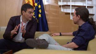 Iglesias y Sánchez coinciden en explorar un Gobierno progresista si Rajoy fracasa