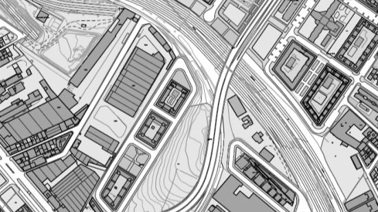 Plano del proyecto 'Pacífico Puente Abierto'