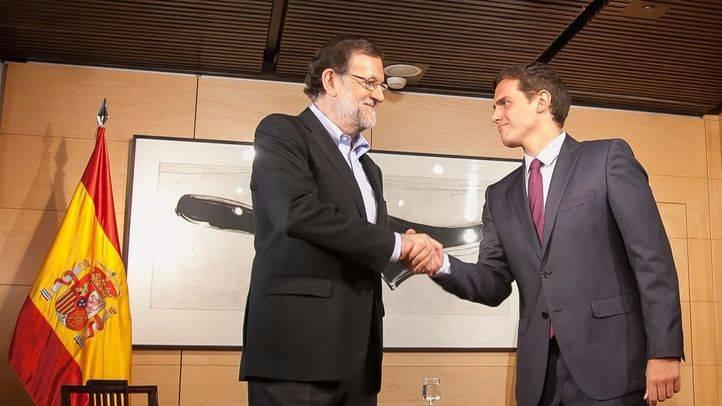 Rajoy acepta las condiciones de Ciudadanos y podrá arrancar la negociación de investidura