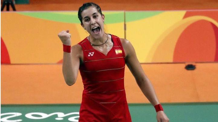Carolina Marín luchará por el oro