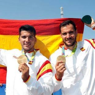Craviotto y Toro, campeones olímpicos de K-2 200