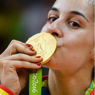 Carolina Marín, campeona olímpica