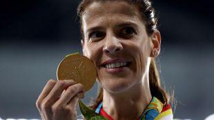 Ruth Beitia logra el séptimo oro de España
