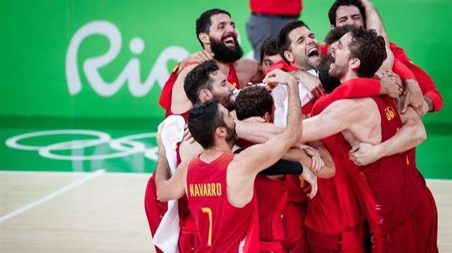La selección española masculina de baloncesto consigue la medalla de bronce en los Juegos Olímpicos de Río de Janeiro