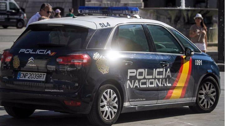 Coches patrulla de la Polic�a Nacional. (Archivo)