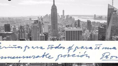 Donan a la Biblioteca Nacional tres cartas de Rosa Chacel escritas desde Nueva York