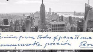 Cartas de Rosa Chacel en la Biblioteca Nacional