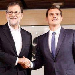 PP y C's ratifican un acuerdo insuficiente para investir a Rajoy