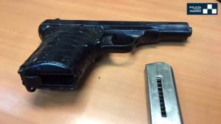Detenido tras sacar una pistola en una terraza en Tetuán