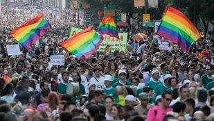 Marcha del orgullo gay (Archivo)