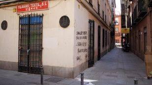 Calle vac�a de Lavapi�s  (Archivo)