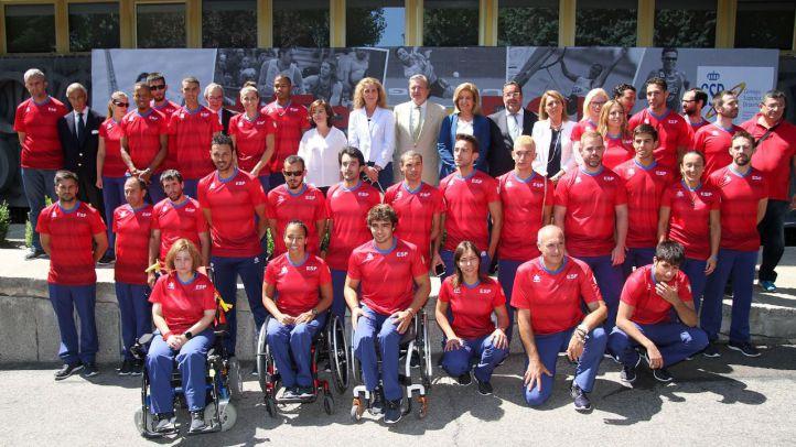 Presentación del equipo paralímpico  que competirá en Río de Janeiro 2016