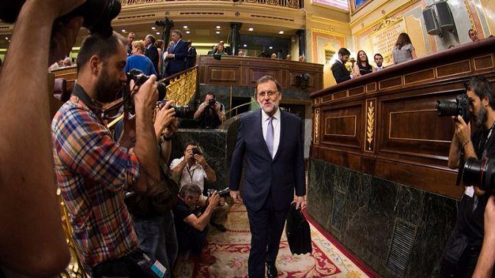 Rajoy pierde la primera votación con 180 votos en contra