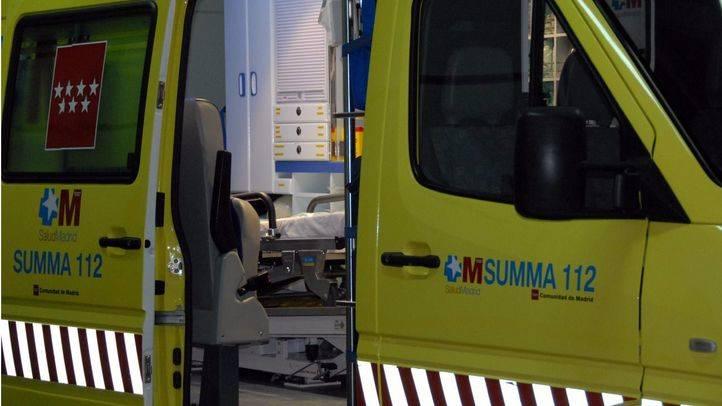 Herido grave un trabajador al caerle encima un puntal en una obra en Atocha