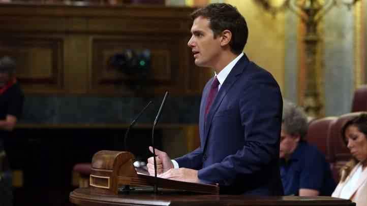 Rivera pide perdón a los ciudadanos por no haber convencido a PP y PSOE