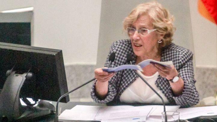 Carmena aboga por un 'proyecto amplio' para España y ofrece su experiencia