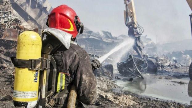 Dan por extinguido el fuego de Chiloeches tras diez días ardiendo