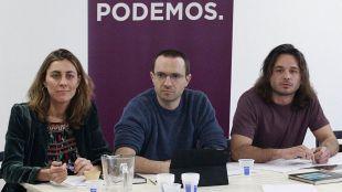Luis Alegre, secretario general de Podemos en la Comunidada de Madrid, preside el Consejo Ciudadano.