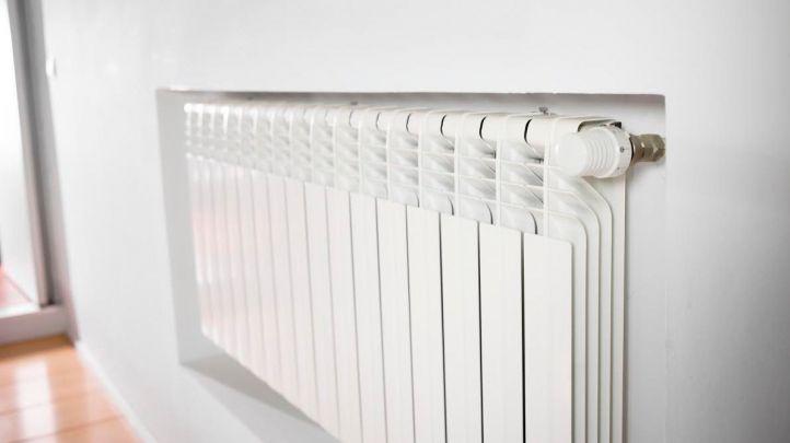 Radiador en un hogar