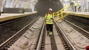 Ecomovilidad recuerda a la Comunidad que podría reabrir varios tramos de la Línea 1 la próxima semana