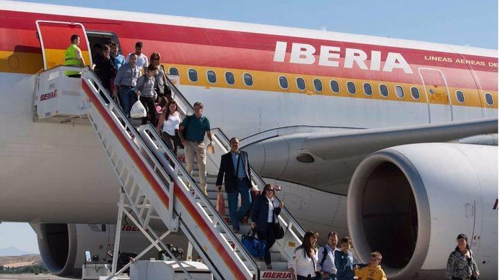 Los vuelos de Madrid a Atenas se incrementaron durante los meses de verano