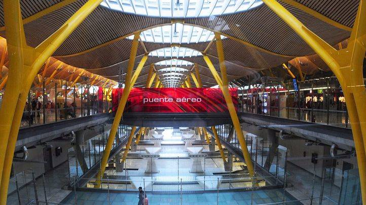 Aeropuerto Adolfo Suarez Madrid Barajas T4