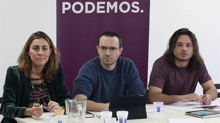 Luis Alegre al frente del Consejo Autonómico de Podemos (Archivo)