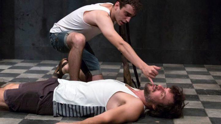 Ensayo 'La piedra oscura' en el Teatro Galileo